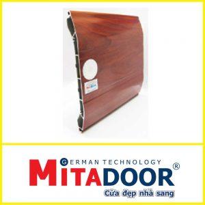 CỬA CUỐN NHÔM TỐC ĐỘ CAO MITADOOR DELUXE 6S -180